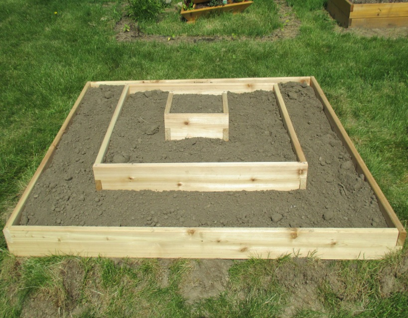 Multi Level Raised Bed Garden Kit Free Shipping Us 48